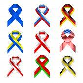 retro, ribbon, russia, russian, scroll, stylized, symbol, tape,