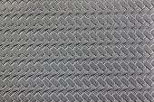 Textured And Pattern Of Black Leather.