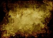 Conceptual Bronze Grunge Background