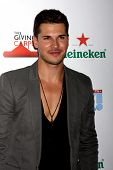 LOS ANGELES - AUG 21:  Gleb Savchenko at the OK! TV Awards Party at Sofiitel L.A. on August 21, 2014