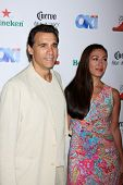 LOS ANGELES - AUG 21:  Adrian Paul at the OK! TV Awards Party at Sofiitel L.A. on August 21, 2014 in
