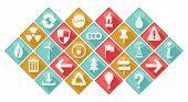 Ecological Theme Icons Set