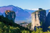 Photo of a Holy Trinity Monastery in Greece