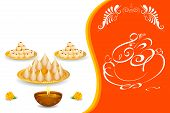 foto of ganesh  - easy to edit vector illustration of Lord Ganesha for Shubh Ganesh Chaturthi  - JPG