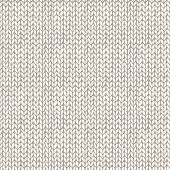 Seamless knitted hand drawn background