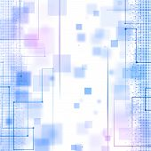 Abstract Blue Business Technology Background
