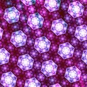 Purple Abstract Seamless Background Pattern Design
