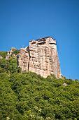 Rocky Monastery at Meteora in Trikala region, Greece.