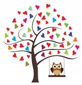 Swinging Owl