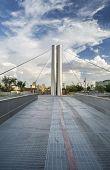 Soleri Bridge in Downtown Scottsdale Arizona