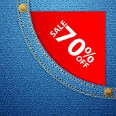 Denim Pocket And Sale Seventy Off
