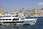 Bosphorus Cityscape