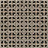 3D Grid In Bronze