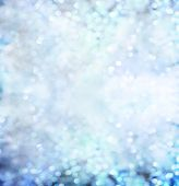 Diamond shapes reflexes like shining lights