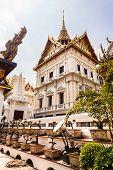 Bonsai Trees In The Wat Phra Kaew Temple
