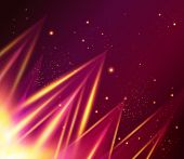 Abstract shiny background with triangles.