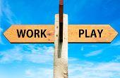 Work versus Play messages