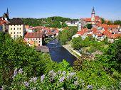 Medieval Town Cesky Krumlov (unesco), South Bohemia, Czech Republic, Europe