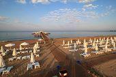 Pier on the beach of Sueno Hotels Beach Side
