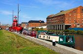 Llanthony Wharf, Gloucester.