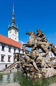 Caesar Fountain, Townhall, Olomouc, Czech Republic