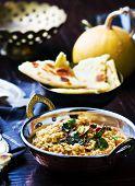 stock photo of tadka  - dhal with pumpkin - JPG