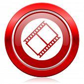 film icon movie sign cinema symbol