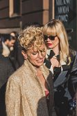 People Outside Vivienne Westwood Fashion Show Building For Milan Men's Fashion Week 2015