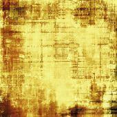 Antique vintage texture, old-fashioned weathered background. With different color patterns: gray; yellow (beige); brown