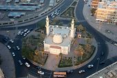 Roundabout mosque In Kuwait