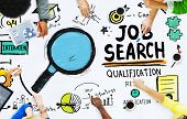 Ethnicity People Discussion Job Search Teamwork Concept