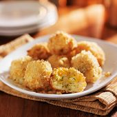 cheesy panko crusted potato bites
