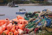 Maine Lobster Ropes & Buoys