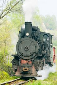 picture of former yugoslavia  - narrow gauge railway - JPG