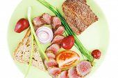foto of bbq food  - meat food  - JPG