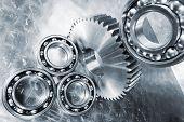pic of bearings  - ball - JPG