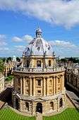 picture of neo-classic  - Elevated view of Radcliffe Camera and surrounding buildings Oxford Oxfordshire England UK Western Europe - JPG