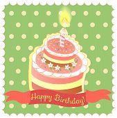 pic of birthday  - Happy birthday card - JPG