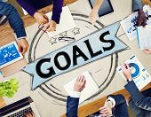 pic of encouraging  - Goal Aspiration Expectation Encourage Dreams Concept - JPG