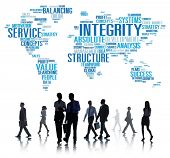 pic of integrity  - Integrity Honesty Sincerity Trust Reliability Concept - JPG