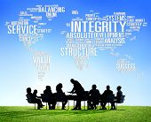 stock photo of integrity  - Integrity Honesty Sincerity Trust Reliability Concept - JPG
