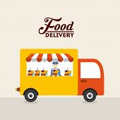 pic of food truck  - food delivery design - JPG