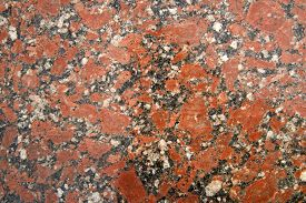 stock photo of slab  - Presentation section of a slab of marble colored - JPG