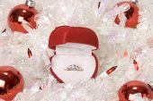 Christmas Engagement Ring
