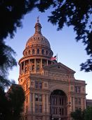 Texas Capitol Evening