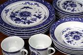 Blue And White Dinnerware