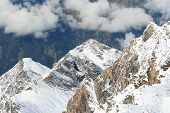 Europe Austria Alps poster