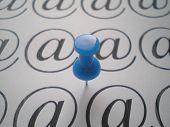 Shtrudel Symbol And Blue Pin