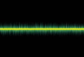 stock photo of flatline  - conceptual image of a flatline pulse from a monitor - JPG