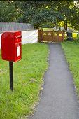 English Village Post Box